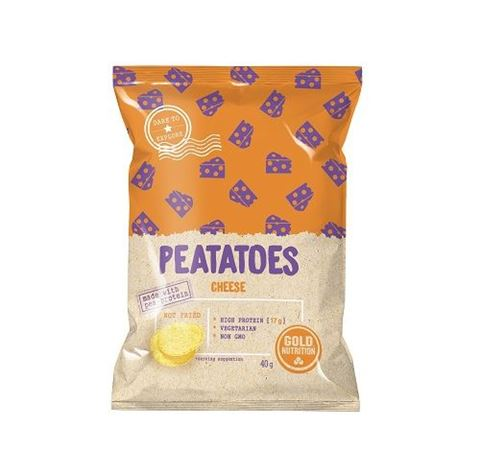 Gold Nutrition Peatatoes Protein Chips Cheese 40gr