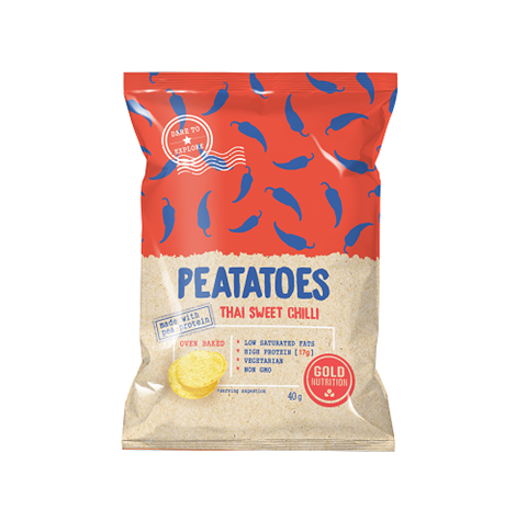 Gold Nutrition Peatatoes Protein Chips Thai Sweet Chilly 40gr