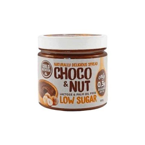 Gold Nutrition Choco & Nut Low Sugar Spread 180gr