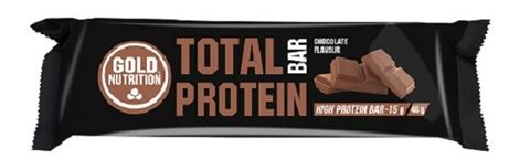 Gold Nutrition Total Protein Bar Chocolate 46gr
