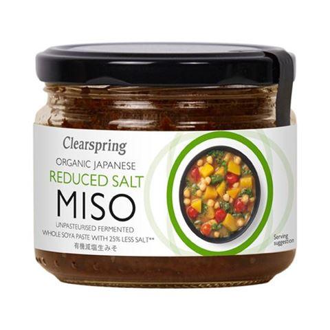 Clearspring Πάστα Miso με Μειωμένο Αλάτι 270gr