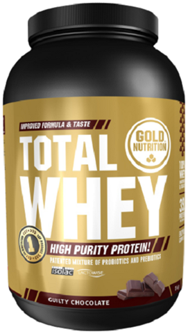 Gold Nutrition Total Whey Chocolate 1kgr