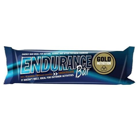 Gold Nutrition Endurance Bar Chocolate, 60gr
