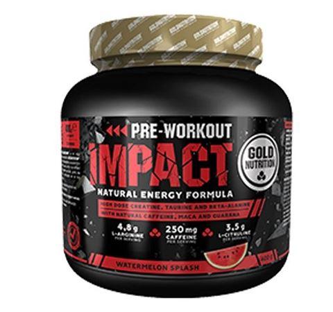Gold Nutrition Pre Workout Impact Watermelon 400gr