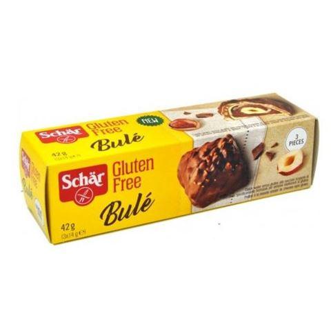 "Dr. Schar ""Bule"",Σοκολατάκια με Γκοφρέτα & Φουντούκι Χ/Γ 3x42gr"