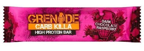 Grenade Carb Killa Μπάρες Υψηλής Πρωτεΐνης Dark Chocolate Raspberry, 60 γρ.