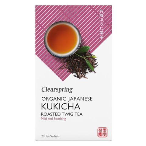 Πράσινο Τσάι Kukicha 36gr Clearspring 20 φακελάκια