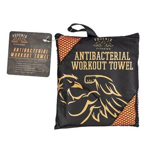 Ryder Hub Antibacterial Microfiber Workout Gym Towel 80cm x 40cm (Small)