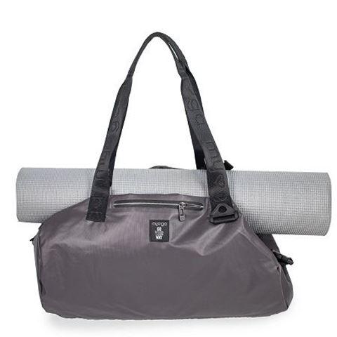 Ryder Hub Vegan Grey Messenger Yoga Bag