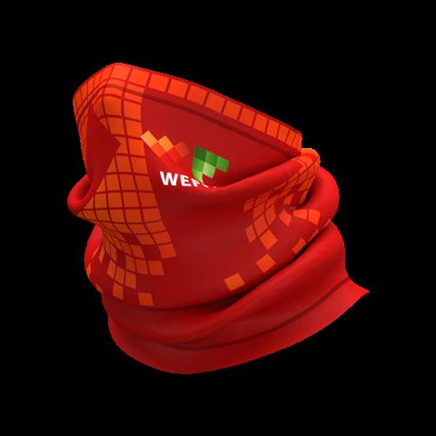 Mπαντάνα WEFIT - Anthrax είναι ένα μαντήλι λαιμού πολλαπλών χρήσεών.