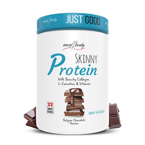 QNT Skinny Protein Belgian Chocolate, 450gr & Δώρο Shaker 600ml