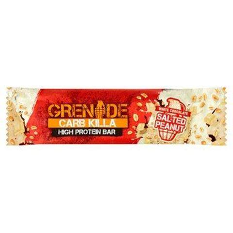 Grenade Carb Killa Μπάρες Υψηλής Πρωτεΐνης Salted Peanut, 60 γρ.
