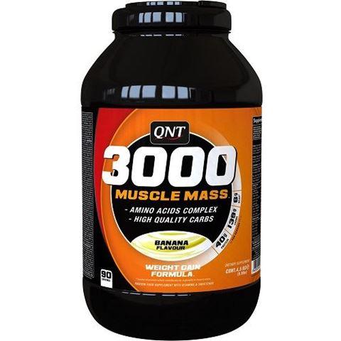 QNT 3000 Muscle Mass Γεύση Μπανάνα, 4500γρ