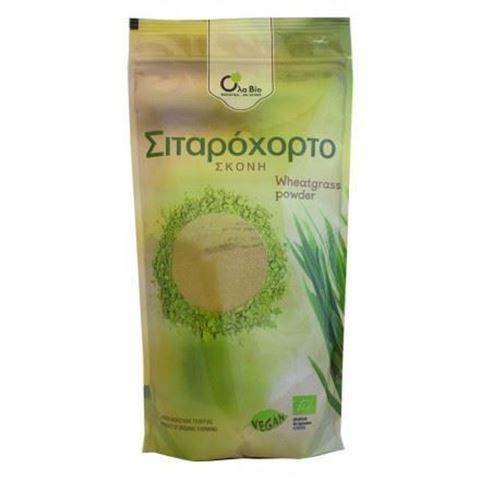 Όλα Βίο, Σιταρόχορτο Σκόνη (Wheatgrass Powder) 125gr