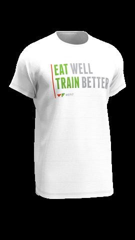 Eat Well Train Better t-Shirt Medium