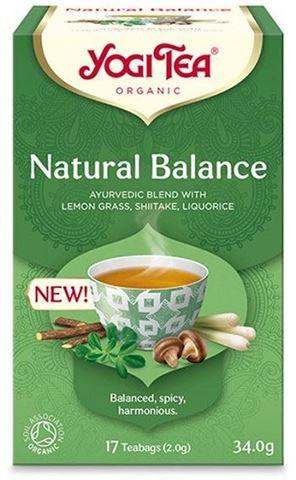 Υogi Tea Natural Balance ΒΙΟ 34gr