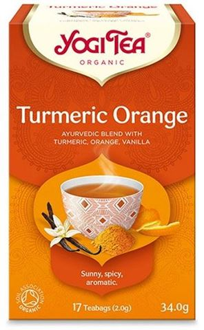 Υogi Tea Turmeric Orange BIO 34gr