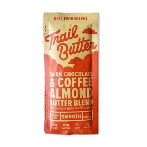 Trail Butter Dark Chocolate & Coffee Almond Butter Sachet, 33gr