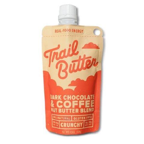 Trail Butter Dark Chocolate & Coffee Nut Butter Pouch, 128gr
