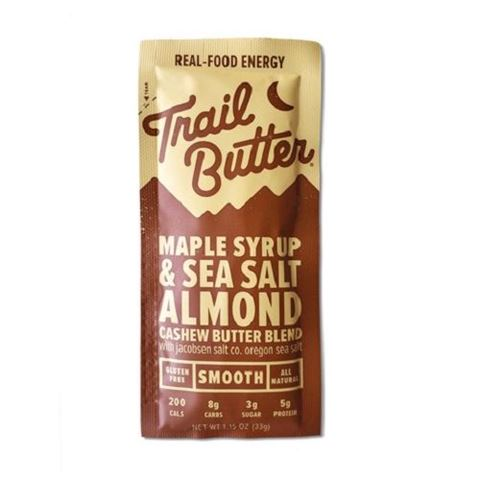 Trail Butter Maple Syrup & Sea Salt Nut Butter Sachet, 33gr