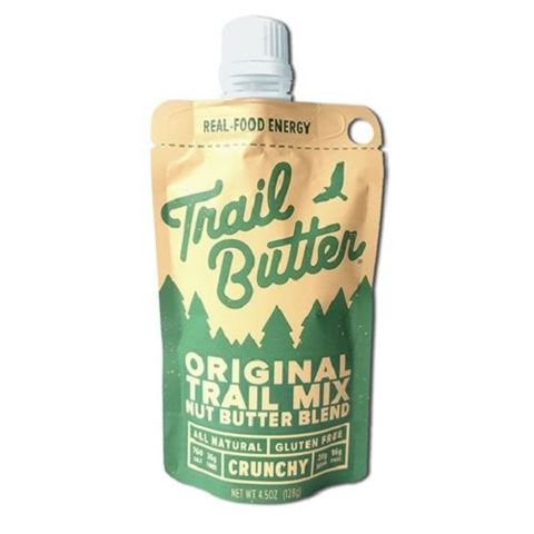 Trail Butter Original Trail Mix Nut Butter Blend Pouch, 128gr