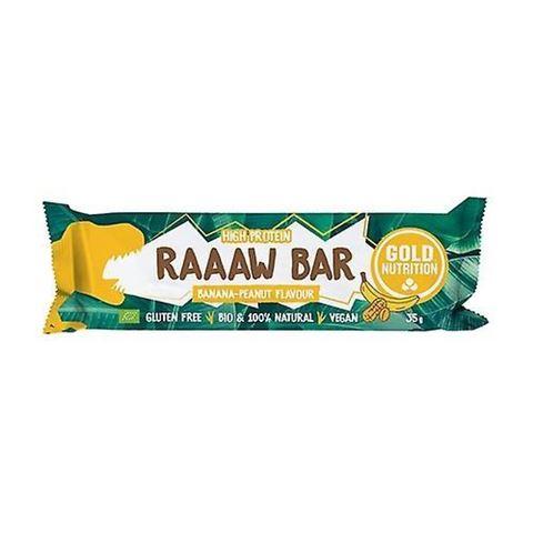 Gold Nutrition Raaaw Bar Banana - Peanut, 35gr