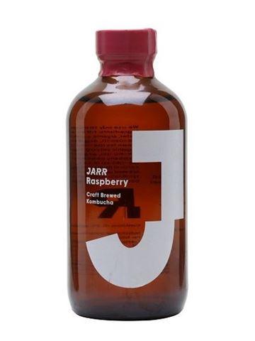 Jarr Organic Kombucha Raspberry Οργανική Κομπούχα Βατόμουρο 240ml