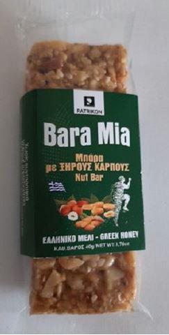 Bara Mia Μπάρα με Ξηρούς Καρπούς 40gr