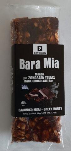 Bara Mia Μπάρα με Σοκολάτα Υγείας 40gr