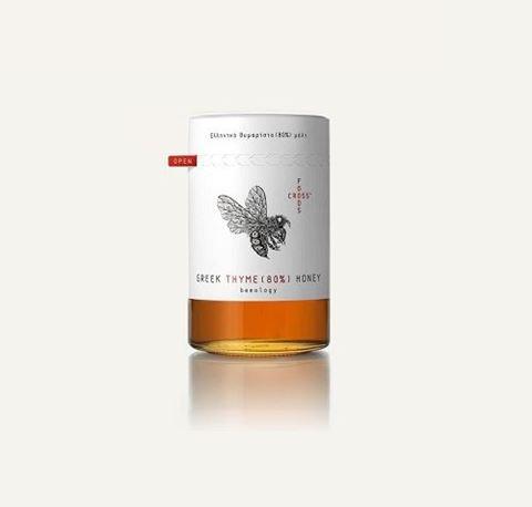 Foodscross Εκλεκτό Θυμαρίσιο Μέλι 250gr 80% Παρουσίας Γυρεόκοκκου Θυμαριού