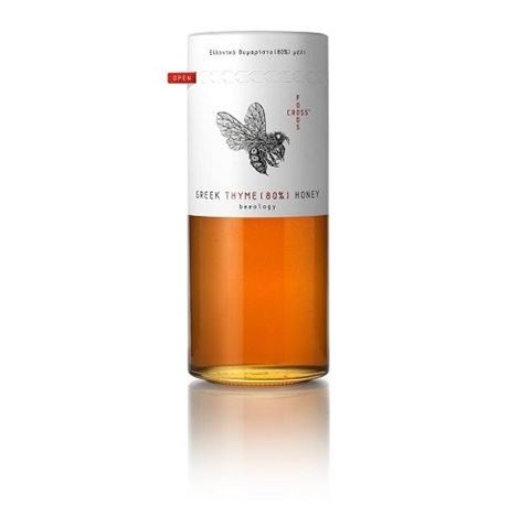 Foodscross Εκλεκτό Θυμαρίσιο Μέλι 420gr, 80% Παρουσίας Γυρεόκοκκου Θυμαριού