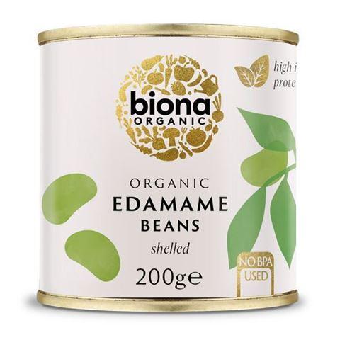 Biona Φασόλια Σόγιας Ενταμάμε (Edamame) 200γρ