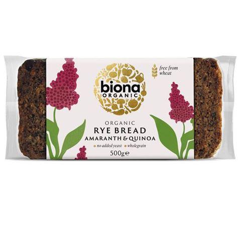 Biona Ψωμί Σίκαλης με Σπόρους Αμάρανθου & Κινόα 500gr