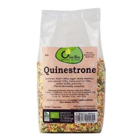 Όλα Βίο Κινόα Quinestrone Καρότο Πράσο BIO 250gr
