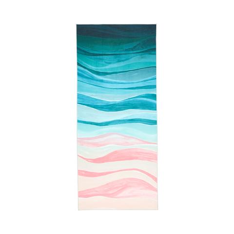 Manduka eQua Yoga Mat Πετσέτα Ebb & Flow