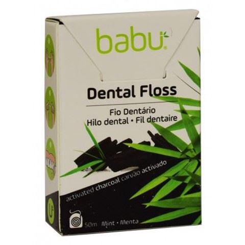 Babu Οδοντικό Νήμα από μπαμπού