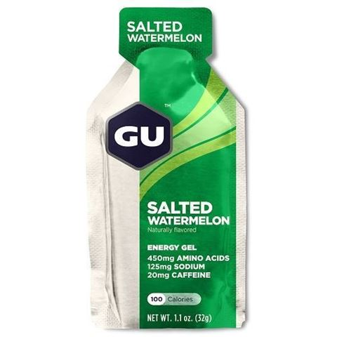 Ενεργειακό gel GU - Γεύση Αλατισμένο Καρπούζι (Salted Watermelon) - καφεΐνη 20mg, 32gr
