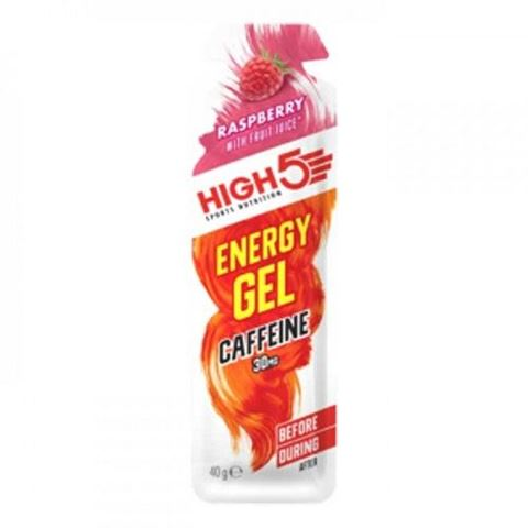 High5 Energy Gel Caffeine Raspberry 40g