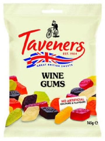 TAVENERS Wine Gums Πολύχρωμες Καραμέλες 165gr