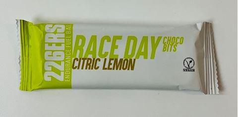 226ERS Endurance Fuel Bar Race Day Choco Bits Citric Lemon, 40gr