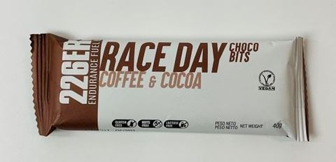 226ERS Endurance Fuel Bar Race Day Choco Bits Coffe & Cocoa, 40gr