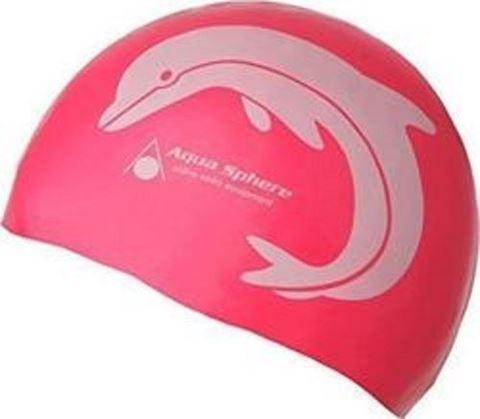 Silicone Swim Cap Junior, Παιδικό Σκουφάκι Κολύμβησης Κόκκινο