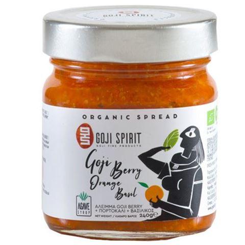 Goji Spirit Επάλειμμα με Γκότζι, Πορτοκάλι & Βασιλικό 240gr