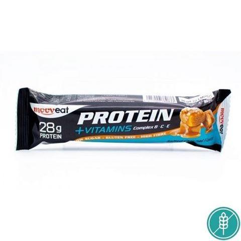 Mooveat Protein-Vitamin bar 35% - Γεύση Salted Caramel 80gr