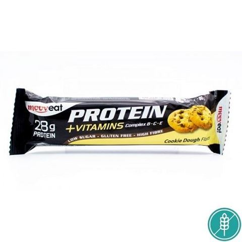 Mooveat Protein-Vitamin bar 35% - Γεύση Cookie Dough 80gr