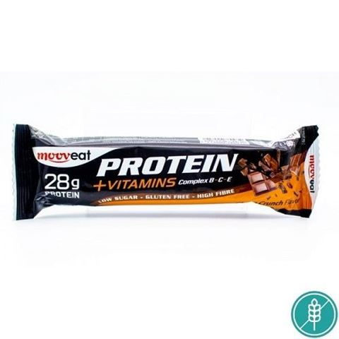 Mooveat Protein-Vitamin bar 35% - Γεύση Choco Crunch 80gr