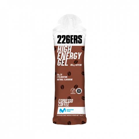 226ERS High Energy Gel Espresso Coffee 80mg Caffeine, 76gr