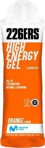 226ERS High Energy Gel BCAA'S Orange 76gr