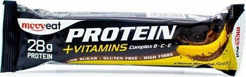 Mooveat Protein-Vitamin bar 35% - Γεύση Choco Banana 80gr