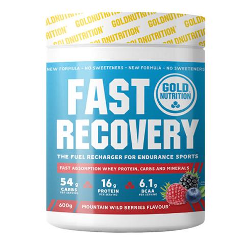Gold Nutrition Fast Recovery Άγρια Μούρα - 600 gr